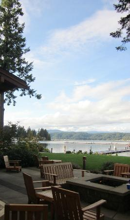 Alderbrook Resort & Spa: view