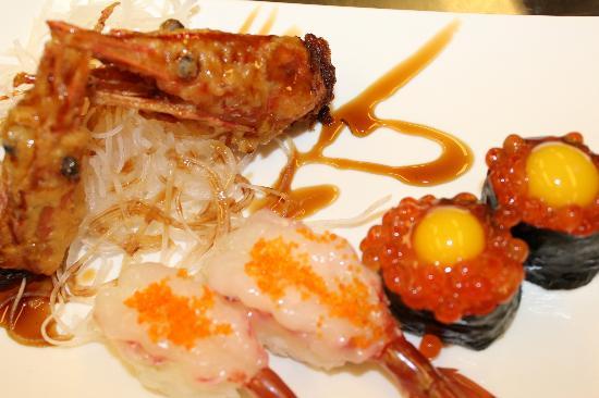 Sakura Japanese Steak House & Sushi: Sweet Shrimp Sushi