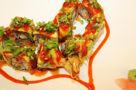 Sakura Japanese Steak House & Sushi: Sweetheart Roll