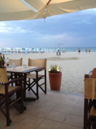 Sirena : direttamente sulla spiaggia