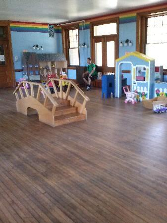 Smith Kids Play Place (Playground & Mansion): upstairs in the mansion