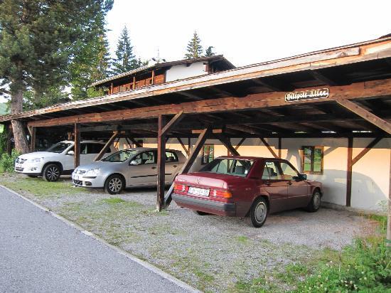 Landhaus Schmiedhof: voldoende parkeergelegenheid