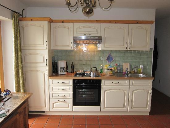 Landhaus Schmiedhof: keuken met moderne voorzieningen