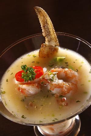 Barlovento Restaurant : Crab Cebiche