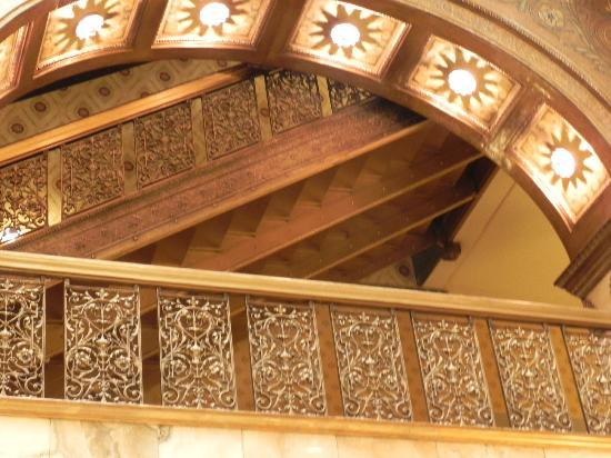 The Spa at The Brown Palace : staircase detail