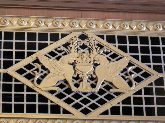 The Spa at The Brown Palace : metal screen over door