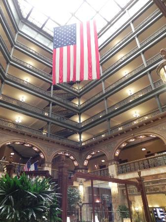 The Spa at The Brown Palace: atrium lobby