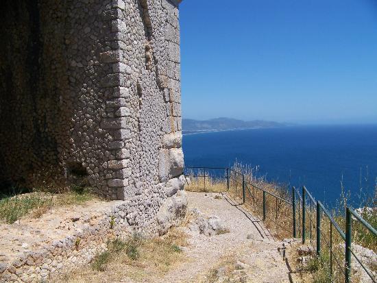 Terracina, Italy: Panorama dal tempio