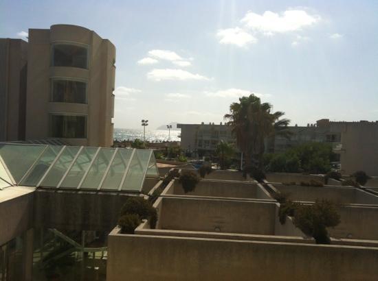 Eix Platja Daurada: Blick vom Balkon , laut Buchung Meerblick
