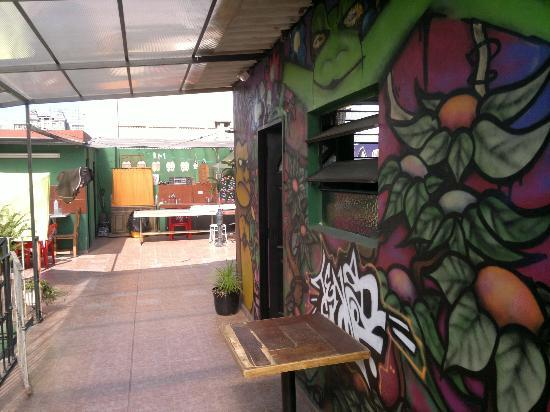 Buenos Aires Tango Hostel: Terraza