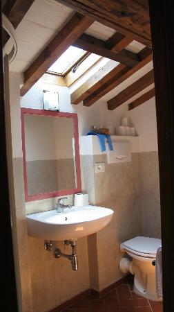 A Casa di Olivo: Our attic room toilet and bathroom