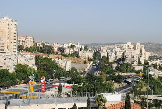 Jerusalem Gate Hotel: View from my room (day)
