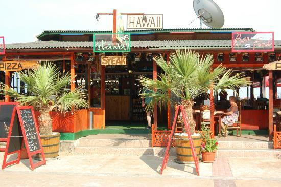 Hawaii Restaurant and bar Sunny Beach : Hawaii Sunny Beach Bulgaria
