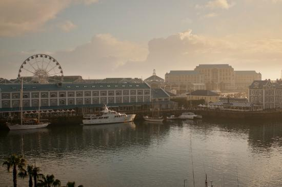 Cape Grace: View of V&A Waterfront from Room 419
