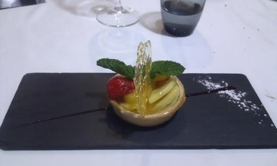 El terrat: tartaleta de frutas y crema