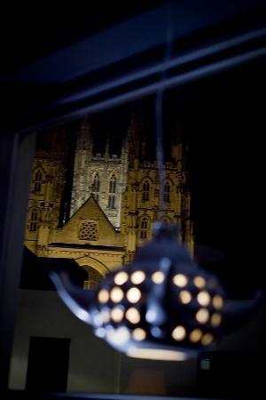 Eleto Chocolate Cafe: view from window