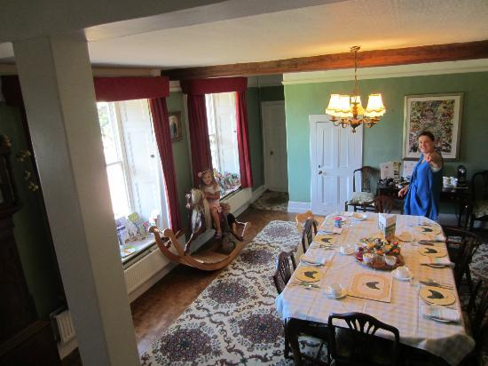 Brenley Farm: dining room