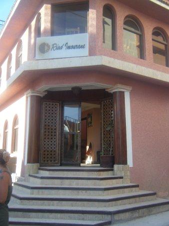 Riad Imourane : entrance