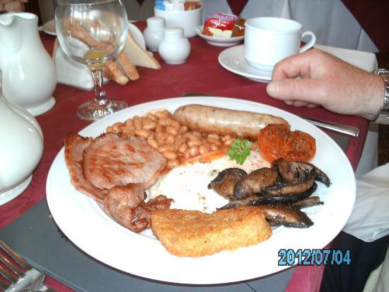 Letchworth Guest House : full english