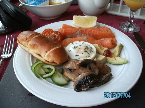 Letchworth Guest House : smoked salmon