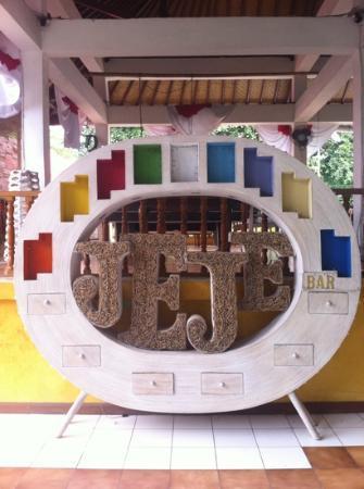 Jeje Resort Bali: В холле отеля