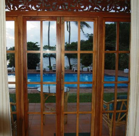 The Waterside Bentota: View from my room