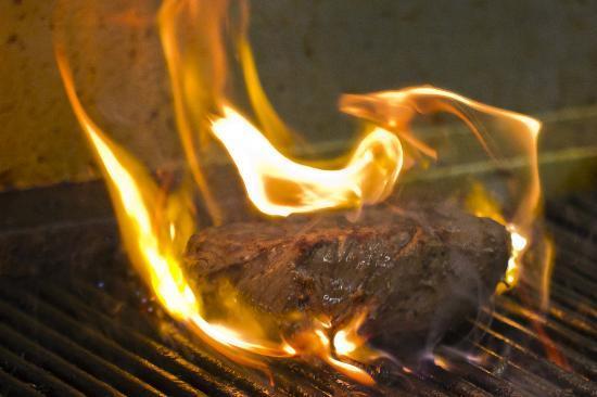 West29 RestoLounge: flame grilled fillet steak