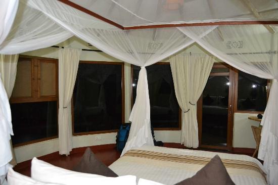 Osupuko Lodge: Rodeada de ventanas