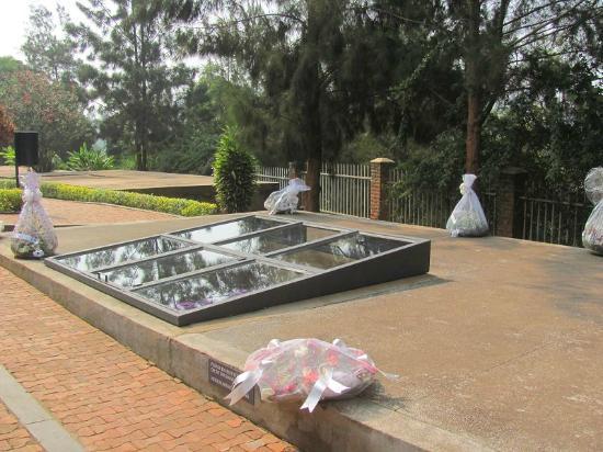 Kigali, Rwanda: Grabstätten