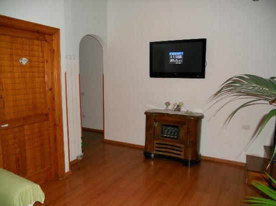 B&b Villa Le Palme : salotto