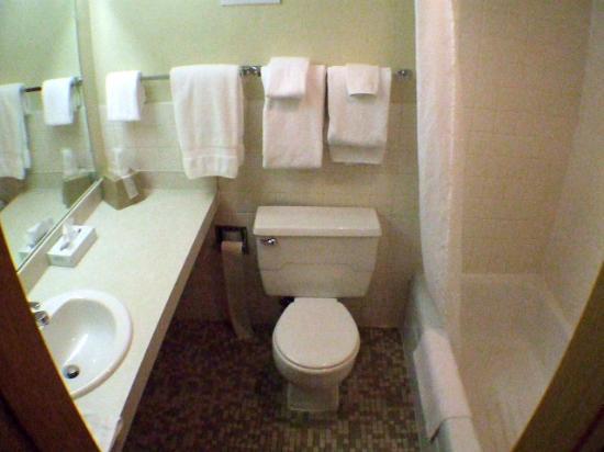 Broadway Inn Conference Center : 2. Bathroom