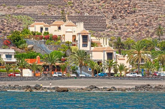 Baja del Secreto Apartamentos: Complex gezien vanaf de oceaan