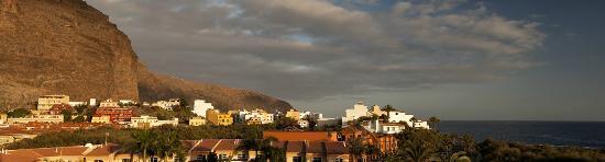 Baja del Secreto Apartamentos : Panorama foto van uitzicht vanaf het terras