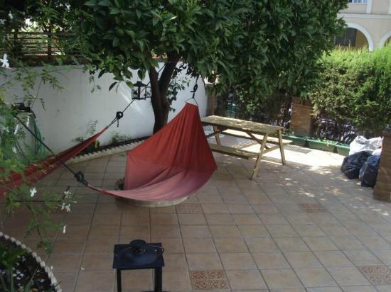 Casa Babylon Backpackers: common area