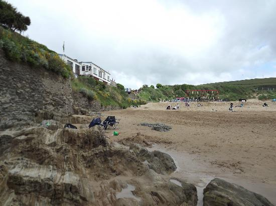 Woolacombe Beach: Interesting Rockside