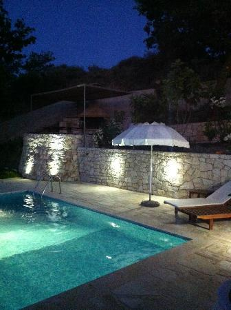 Anna Boutique Villas: Poolside