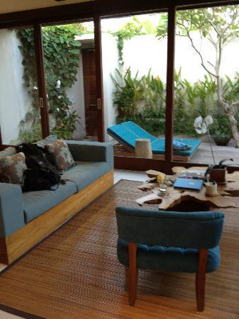 Maca Villas & Spa : Living Area