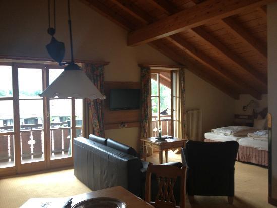 Hotel Zugspitze: My room