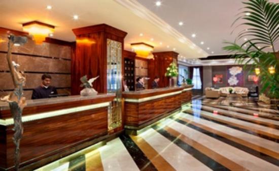 Lobby reception divan erbil hotel picture of divan for Divan hotel erbil
