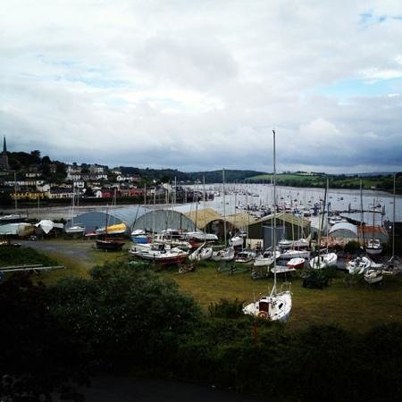 Crosshaven, Ireland: The view from The Compass Rose