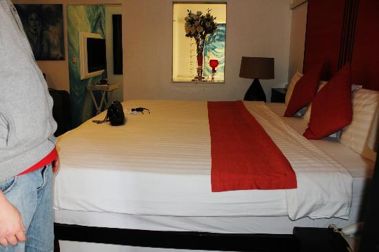 Baipho Boutique Residence Phuket : bed