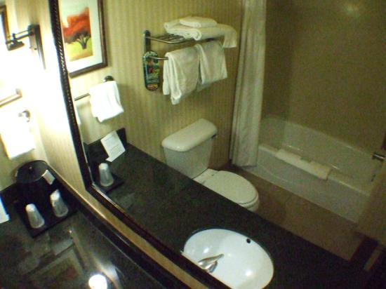 Holiday Inn Express Rawlins: 3. Bathroom