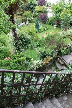 Hotel Beau Site : le jardin