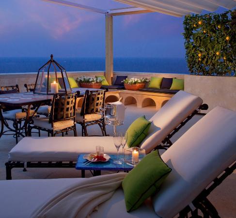 Monastero Santa Rosa Hotel & Spa : Suite terrace
