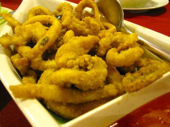 Yum yum : Fried squid