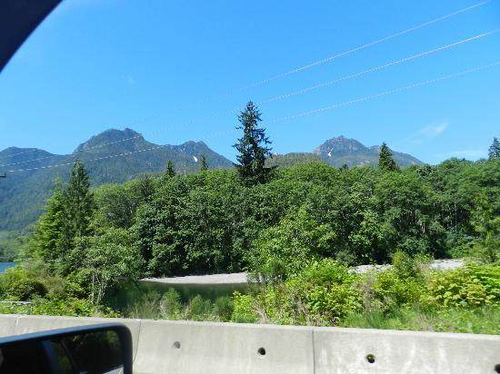 High Roller Charters: Scenery into Ucluelet.