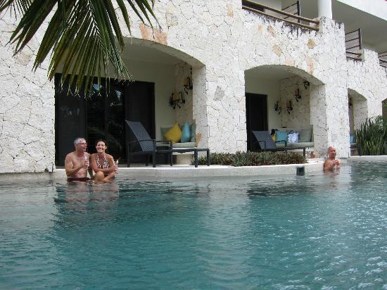 Secrets Maroma Beach Riviera Cancun Swim Out Rooms