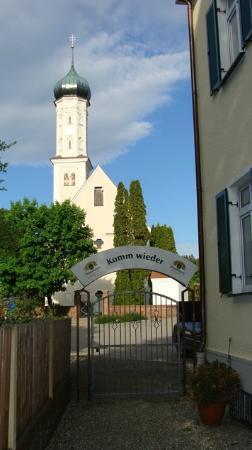 Braeustueble Altenmuenster: Ausgang Biergarten