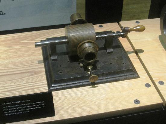 Thomas Edison National Historical Park: 1st Phonograph