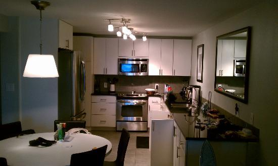 The Beach House Condominiums: kitchen in 604a